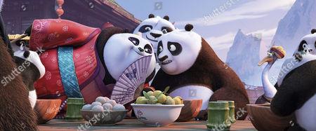 Editorial photo of Kung Fu Panda 3 - 2016
