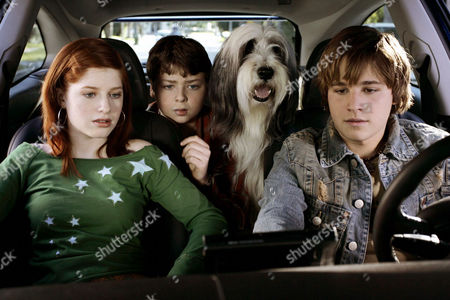 Stock Image of Zena Grey, Spencer Breslin, Shawn Pyfrom