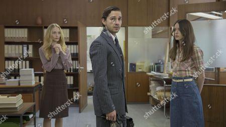 Felicity Gilbert, Shia Labeouf, Stacy Martin