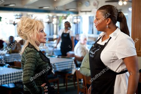 Stock Picture of Dolly Parton, Queen Latifah