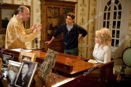Stock Image of Todd Graff, Jeremy Jordan, Dolly Parton