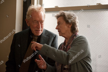Stock Picture of Max Von Sydow, Zoe Caldwell