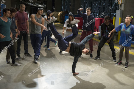 David Shreibman, Adam G. Sevani, Ryan Guzman, Briana Evigan, Christopher Scott, Parris Goebel, Chadd Smith