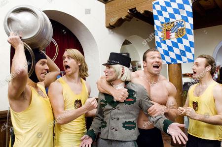 Stock Picture of Nat Faxon, Eric Christian Olsen, James Roday, Gunter Schlierkamp, Will Forte