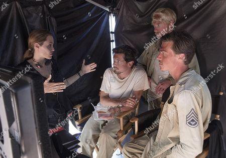 Angelina Jolie, Jack O'Connell, Domhnall Gleeson, Finn Wittrock