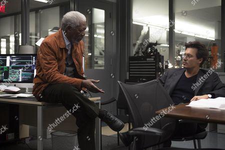 Morgan Freeman, Johnny Depp