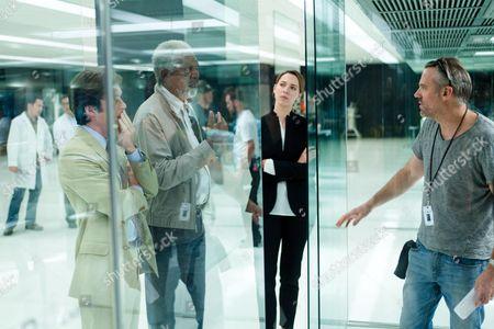 Cillian Murphy, Morgan Freeman, Rebecca Hall, Wally Pfister