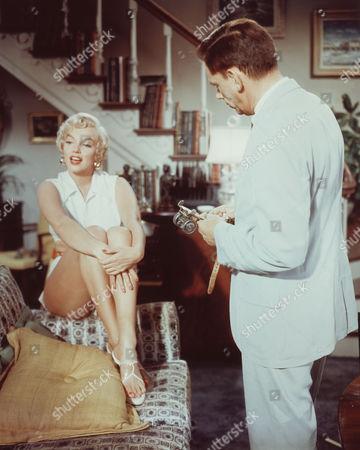 Tom Ewell, Marilyn Monroe
