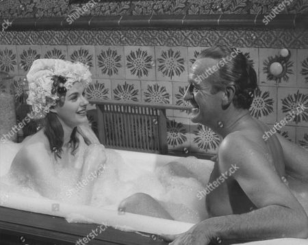 Stock Picture of Angela Scoular, David Niven