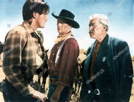Jeffrey Hunter, John Wayne, Ward Bond
