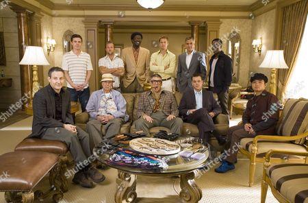 Eddie Jemison, Casey Affleck, Carl Reiner, Scott Caan, Bernie Mac, Elliott Gould, Brad Pitt, George Clooney, Matt Damon, Don Cheadle, Shaobo Qin