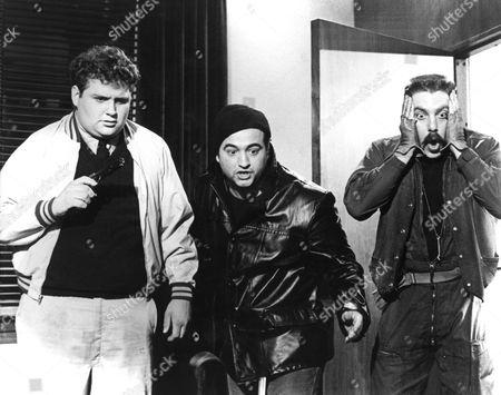 Stephen Furst, John Belushi, Bruce McGill