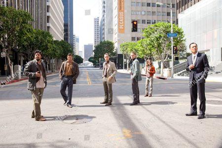 Stock Picture of Dileep Rao, Tom Hardy, Joseph Gordon-Levitt, Leonardo Dicaprio, Elliot Page, Ken Watanabe