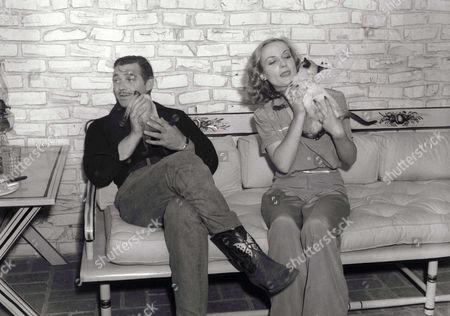 Stock Image of Clark Gable, Carole Lombard