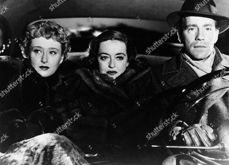 Celeste Holm, Hugh Marlowe, Bette Davis