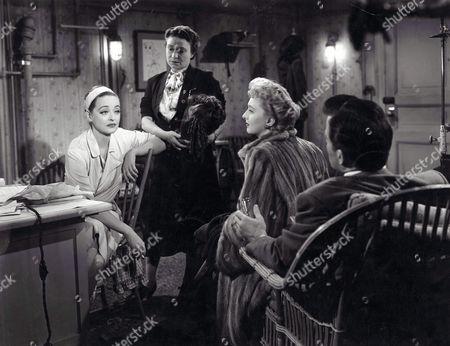 Bette Davis, Thelma Ritter, Celeste Holm, Hugh Marlowe
