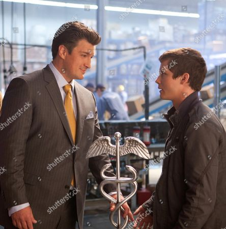 Nathan Fillion, Logan Lerman