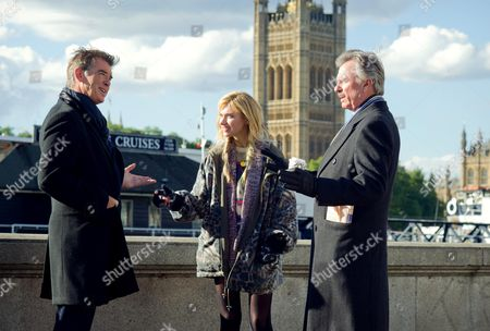 Stock Picture of Pierce Brosnan, Imogen Poots, Sam Neill