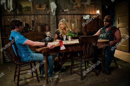 Jesse Moss, Katrina Bowden, Tyler Labine