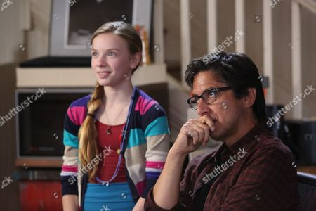 Stock Picture of Courtney Grosbeck, Ray Romano