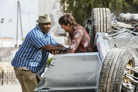 Stock Picture of Ving Rhames, Tom Cruise