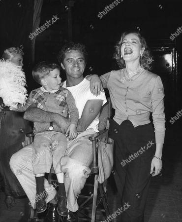 Stephen Bogart, Richard Burton, Lauren Bacall
