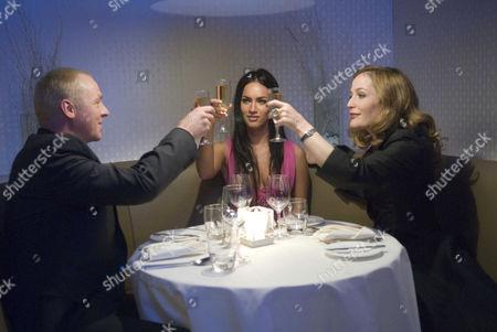 Simon Pegg, Megan Fox, Gillian Anderson