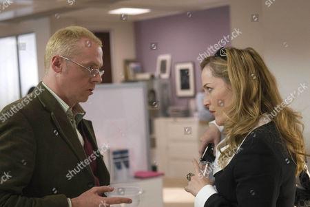 Simon Pegg, Gillian Anderson