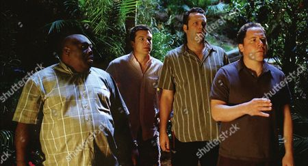 Faizon Love, Jason Bateman, Vince Vaughn, Jon Favreau