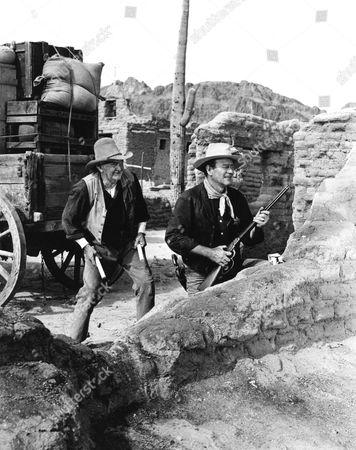 Walter Brennan, John Wayne