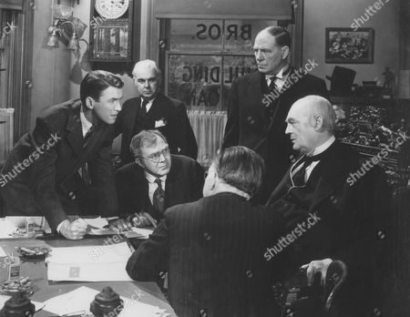 James Stewart, Thomas Mitchell, Harry Cheshire, Frank Hagney, Lionel Barrymore