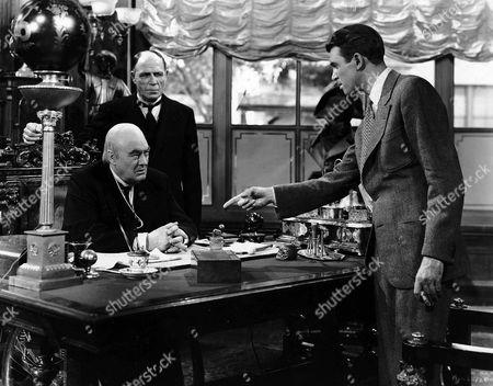 Lionel Barrymore, Frank Hagney, James Stewart