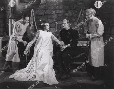 Colin Clive, Elsa Lanchester, Boris Karloff, Ernest Thesiger