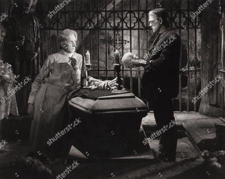 Ernest Thesiger, Boris Karloff