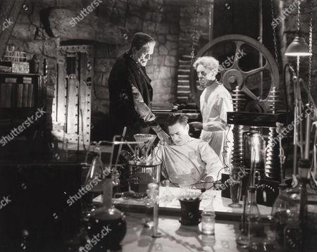 Boris Karloff, Colin Clive, Ernest Thesiger