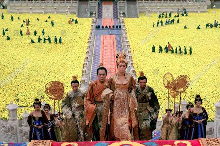 Qin Junjie, Ye Liu, Gong Li, Jay Chou