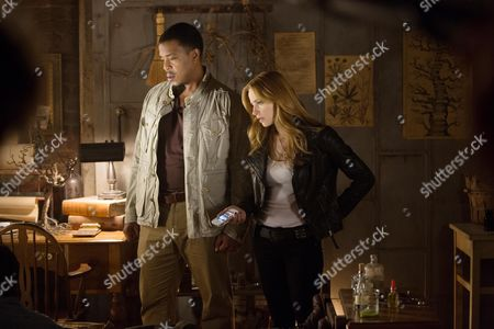Stock Photo of Russell Hornsby, Jamie Ray Newman