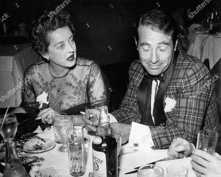 Stock Image of Bette Davis, Gary Merrill