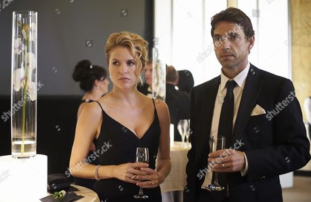Stock Image of Laurie Fortier, Dougray Scott