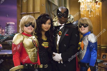 Cole & Dylan Sprouse, Brenda Song, Phill Lewis