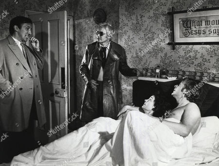 Stock Image of Sewell George, Tony Beckley, Michael Caine, Rosemarie Dunham