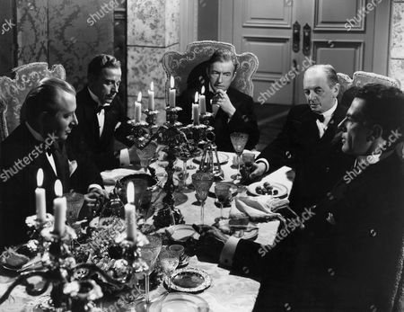 Wally Brown, Ivan Triesault, Claude Rains, Reinhold Schunzel