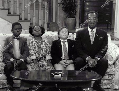 Stock Photo of Deon Richmond, Keshia Knight Pulliam, Peter Costa, Bill Cosby