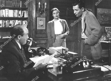 Fred Clark, Nancy Olson, William Holden
