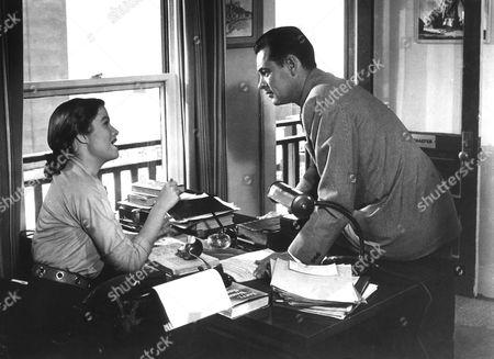 Nancy Olson, William Holden