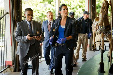 Lee Thompson Young, Angie Harmon