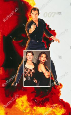 Stock Picture of Timothy Dalton, Carey Lowell, Talisa Soto