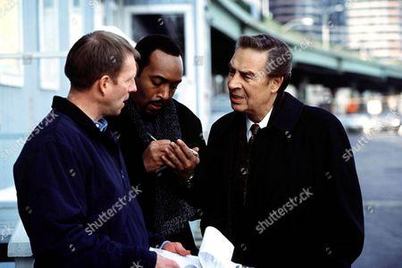 Al Thompson, Jesse L. Martin, Jerry Orbach