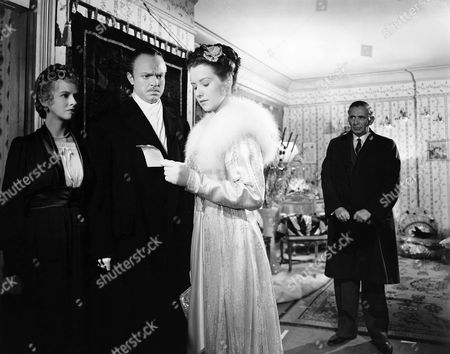 Dorothy Comingore, Orson Welles, Ruth Warrick, Ray Collins