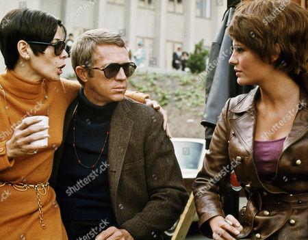 Neile Adams, Steve McQueen, Jacqueline Bisset